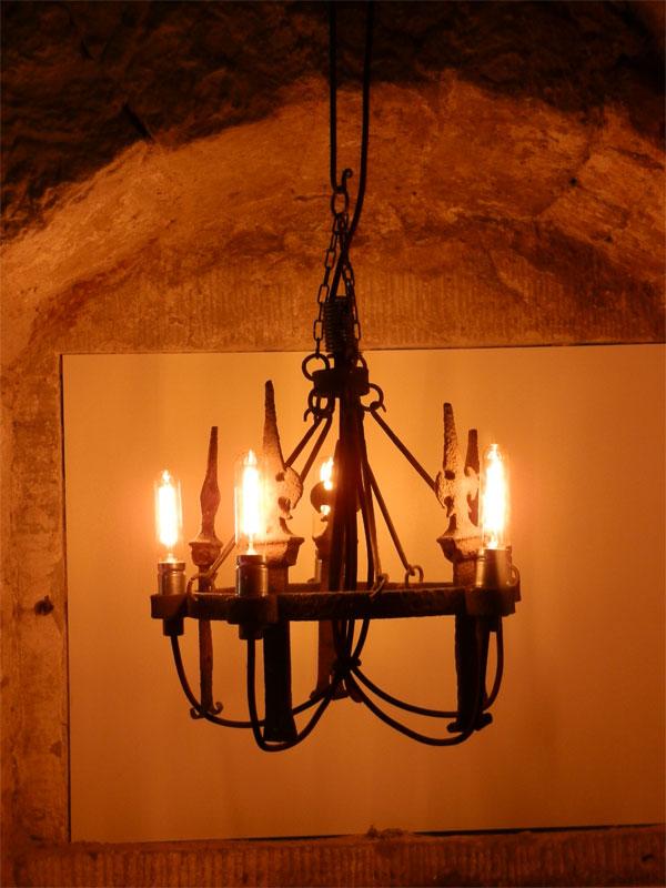 h ngeleuchter 5 flammig licht eisenlicht eisen. Black Bedroom Furniture Sets. Home Design Ideas